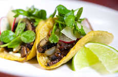 Meatless Mushroom Tacos - These Smoky Portobello Mushroom Tacos Satisfy All Mexican Food Cravings