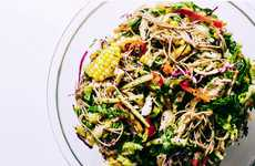 Healthy Summer Salads - Iamafoodblog's Soba Salad Features Corn, Oranges and Cherry Tomatoes