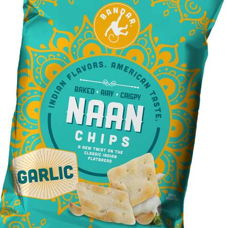 Cultural Chip Branding - Bandar is a New Snack Brand Infusing American Tastes with Indian Flavors