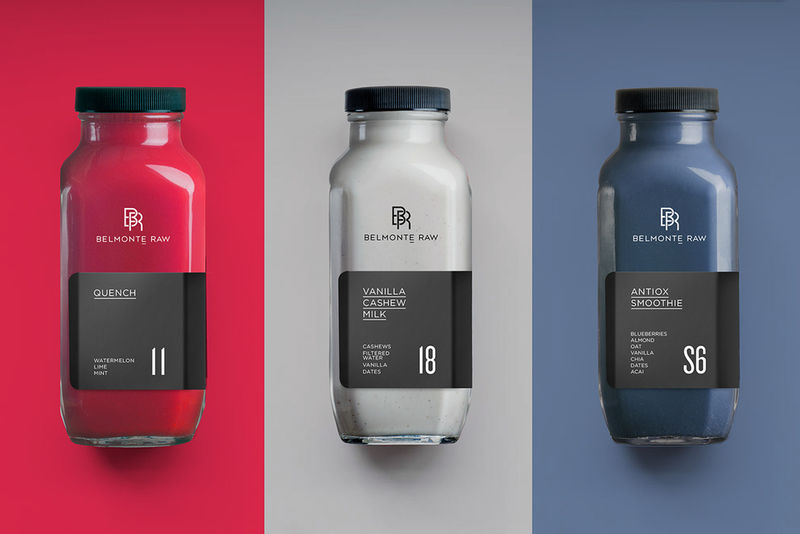 Sophisticated Raw Juice Branding