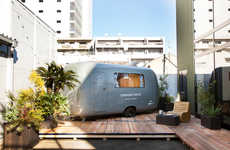 Upcycled Van Campers - 'Caravan Tokyo' Turns Old Vehicles into Traveling Accommodations