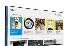 TV Music Apps - Rdio Makes Playing Music on Television Easy Through Fire TV
