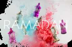 Ramadan-Colored Smoke Art