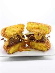 Scrambled Egg Burger Buns