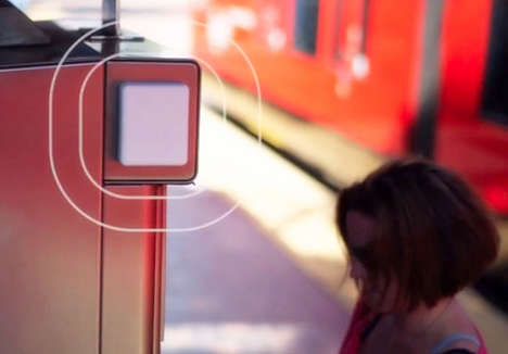 Blind-Assisting Beacon Systems - This Subway Navigation System Helps to Guide Blind Passengers