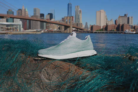Upcycled Ocean Trash Sneakers - These Stylish Kicks are Made Entirely Out of Ocean Plastic Trash