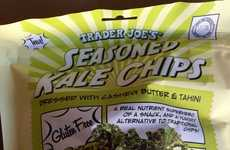 Convenient Seasoned Kale Chips - These Trader Joe's Kale Chips Are a Great Snack While on the Go