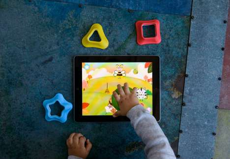 Educational Tablet Apps - The Tiggly App is Targeted Towards Babies and Toddlers