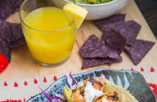 Jamaican Shrimp Tacos - Closet Cooking's Fuses Jamaican Flavors With a Classic Mexican Dish