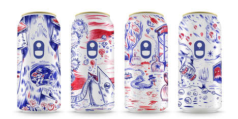 Season-Branded Beer Cans