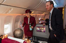 Gourmet Airplane Menus - The New Qatar Airways Menu is Revamped for Business Class Flyers