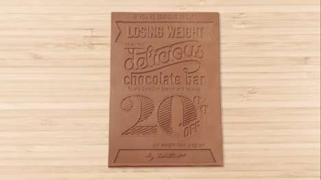 Health-Endorsing Chocolate Flyers