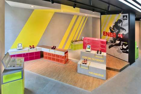 Running Experience Retail Concepts - The adidas RunBase Store in Milan is an Immersive Concept