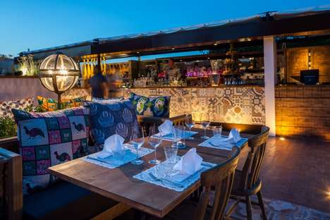 Candlelit Island Restaurants - This Ibiza Restaurant is a Stunning, Sophisticated Retreat