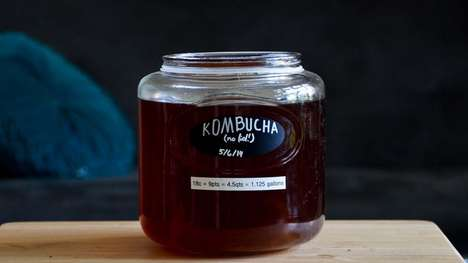 Kombucha-Inspired Beers - This Boozy Kombucha Drink is Packed with Healthy and Nutritious Probiotics