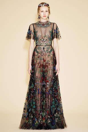 Aboriginal Art-Inspired Dresses