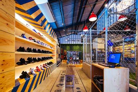 Ball Park-Inspired Retail - STANDIN Baseball Store with Stadium-Inspired Decor in Fukuoka, Japan