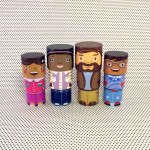 Diversified Children's Toys - The MyFamilyBuilders Teach Children About Different Types of Families