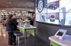 Comfortable Auto Shops - Sonic Automotive Shows Off All Its Used Cars with Immersive Technology
