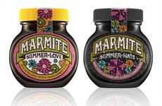 Conflicting Spread Branding - Marmite's Limited Edition Products Honor Summer Love and Summer Hate