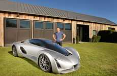 3D-Printed Supercars - Divergent Microfactories Unveils a Stunning Printed Car Design