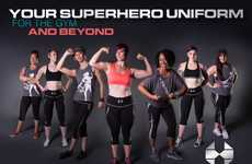 Superhero-Inspired Activewear - This New Line of Performance Clothing Empowers Women