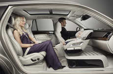 Up-Front Car Seats - Volvo's Excellence Child Seat Concept Combines Safety and Luxury