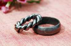 Romantic Metalwork Rings
