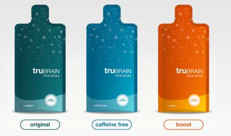 Brain-Boosting Energy Drinks - The Neuroscientist-Created TruBrain Drinks Use Active Nootropics