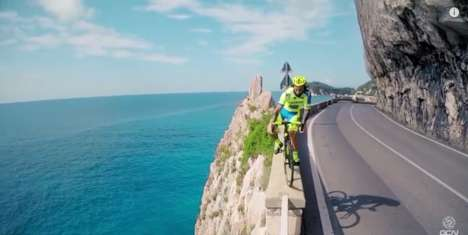 Daredevil Cycling Videos - Vittorio Brumotti Returns with a 2nd Installment of Road Bike Freestyles