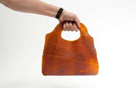 Produce-Based Leather - The Willem de Kooning Academie Turns Food Waste Into Usable Fruit Leather
