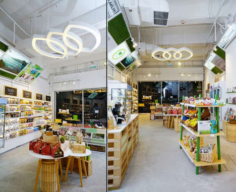 Plant-Based Retail Concepts - Green Common Concept Store is Uniquely 100% Plant-Based