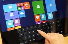 Embedded Touchscreen Sensors - LG's Advanced In-Cell Touch System Allows For Lighter Displays