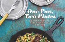 Comprehensive Couples' Cookbooks - 'One Pan, Two Plates' Contains Inspiration for Cooking for Two