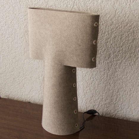 Fabric Felt Lamps