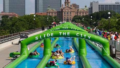 Ultra Lengthy Water Slides