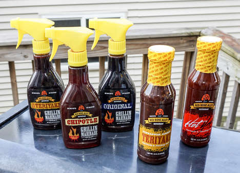 Spray Bottle Hot Sauces