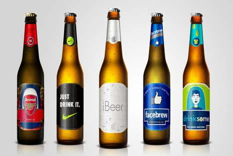 Iconic Brand-Inspired Beers