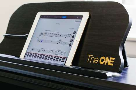Smartphone Piano-Teaching Systems - The One Smart Piano System Works With Smartphone Apps