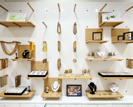 Pegboard Jewelry Displays