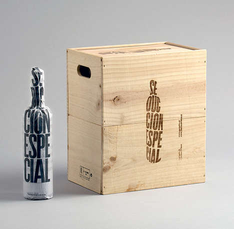 Mini-Crate Wine Packages - These Beautiful Vintage Wines are Protected with Paper & Wooden Crates