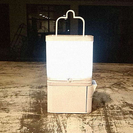 Salt Water-Powered Lamps
