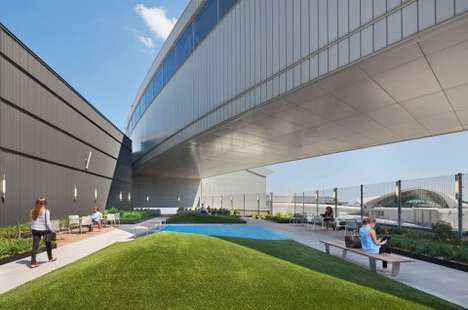 Rejuvenating Airport Parks - JetBlue's Rooftop Park is Designed to Lift Travelers' Moods