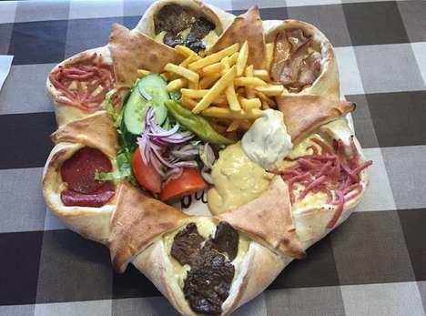 Stuffed Pocket Pizzas