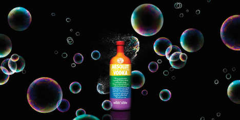 LGBT-Celebrating Vodka Bottles