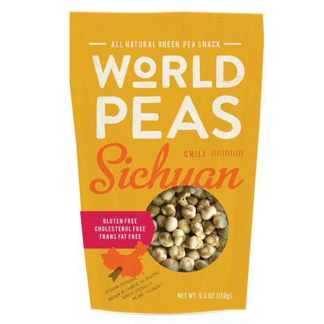 Spicy Pea Snacks