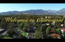 Enchanting Tourism Ads - This Spot for Claremont, California Has a Wes Anderson Aesthetic