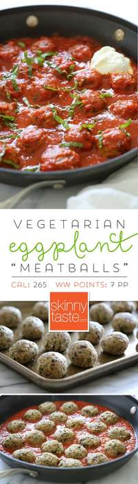 These Delicious Veggie Meatballs are Made Entirely from Eggplant
