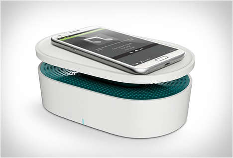 Wireless Induction Speakers