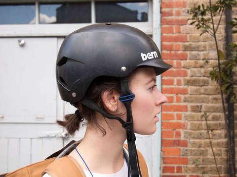 Bike Helmet Headphones